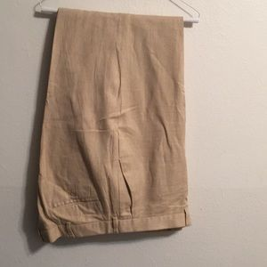 Ralph Lauren Linen, Cotton pants NWOT size 40-32